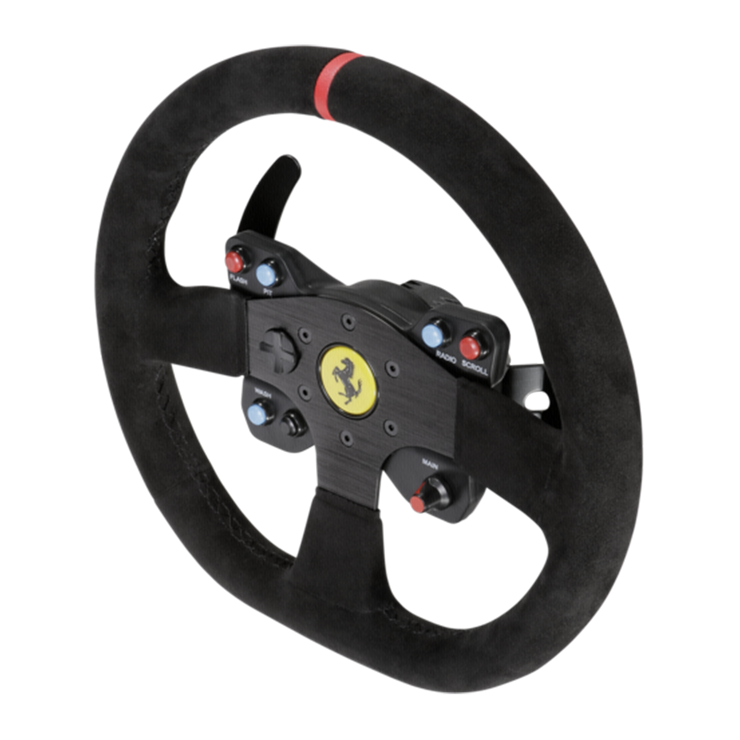 Thrustmaster 599XX EVO 30 Wheel Add-On Alcantara Edition - Pagnian Advanced Simulation
