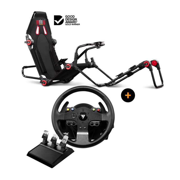Next Level Racing F-GT Lite + Thrustmaster TMX Pro - pagnianimports