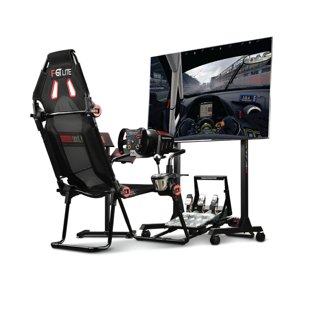 Next Level Racing F-GT Lite  - Formula and GT Racing Cockpit - Pagnian Advanced Simulation