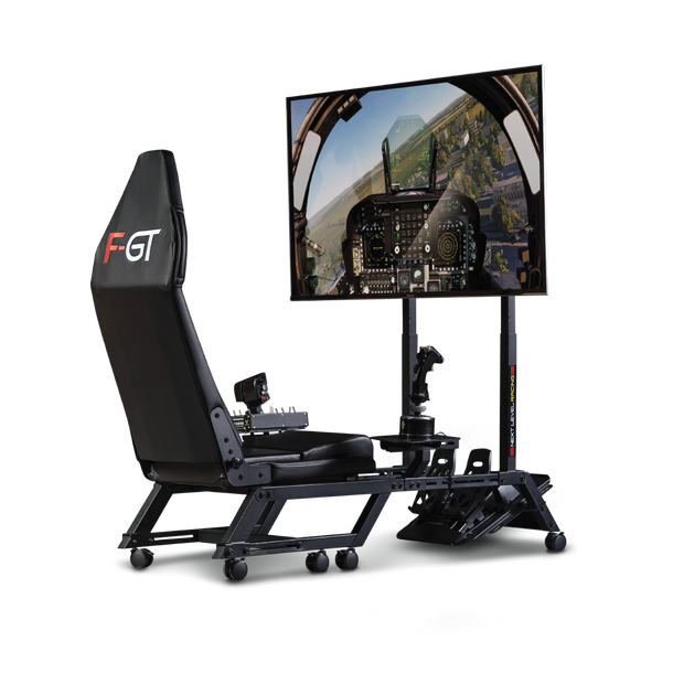 Next Level Racing F-GT Formula & GT Simulator Cockpit- Matte Black - Pagnian Advanced Simulation