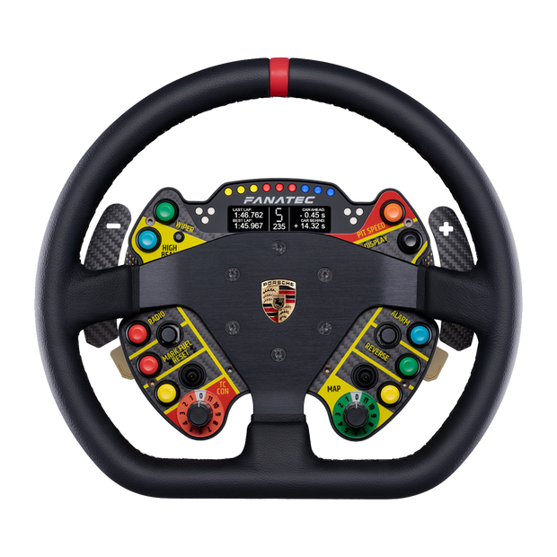 Fanatec Podium Steering Wheel Porsche 911 GT3 R Leather - Pagnian Advanced Simulation