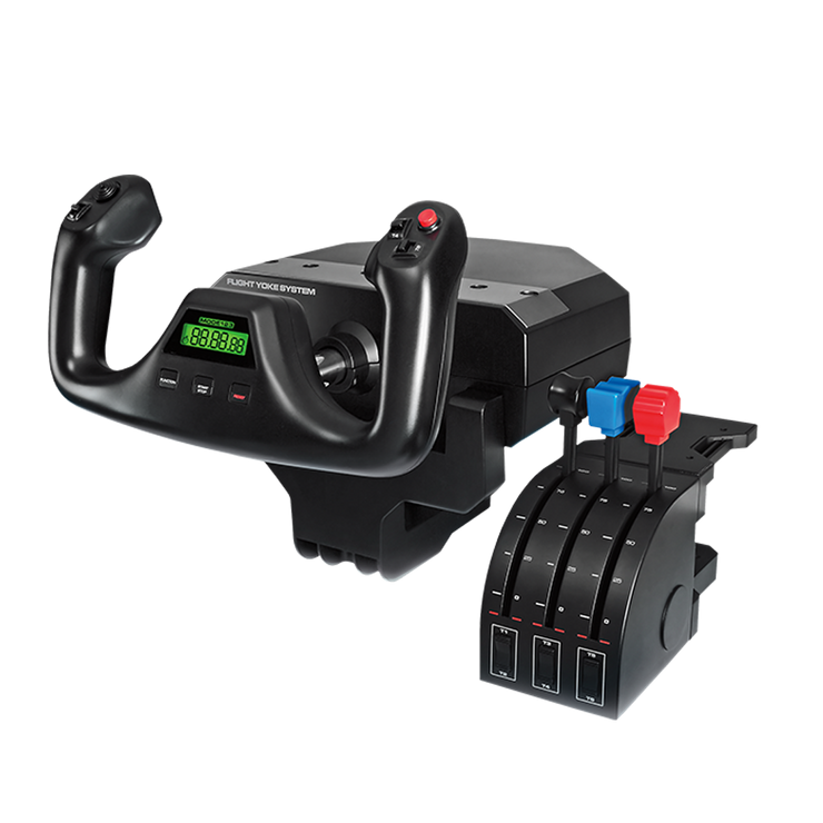 Logitech G Flight Yoke with Throttle Quadrant - pagnianimports