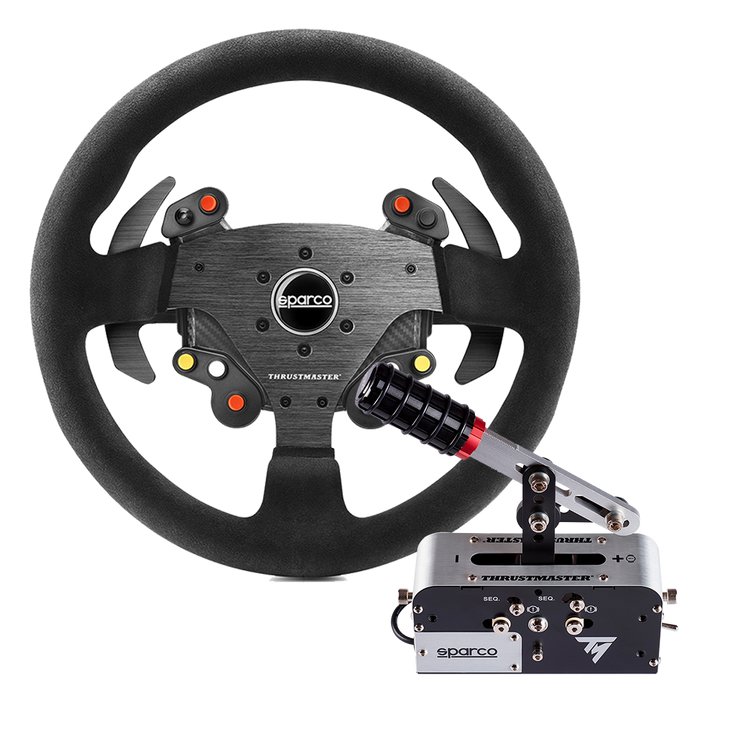 Thrustmaster Rally Race Gear Sparco Mod R383 Rally add on + TSS Mod+ - pagnianimports