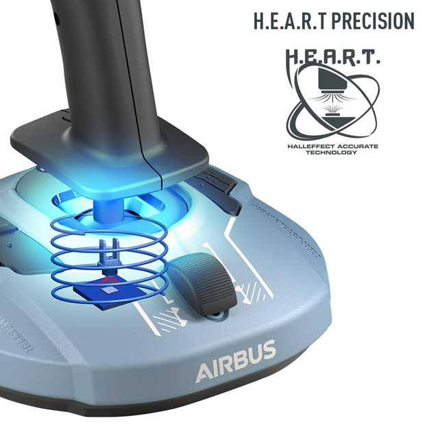 Thrustmaster TCA Sidestick Airbus Edition Flight Stick - Pagnian Advanced Simulation