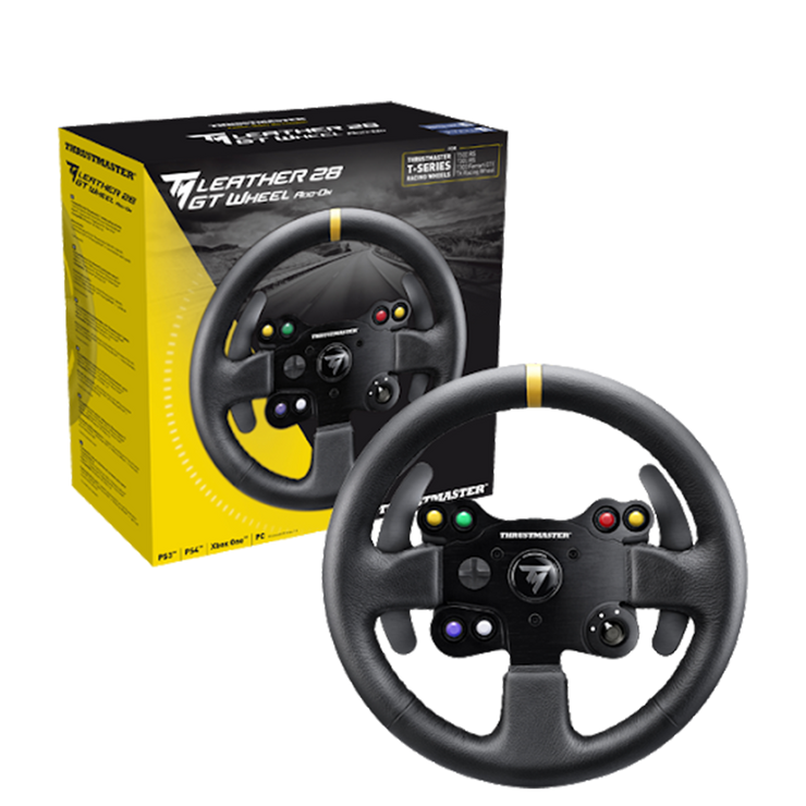 Thrustmaster TM Leather 28 GT Wheel Add-On for T300-T500-TX Racing Wheels - pagnianimports