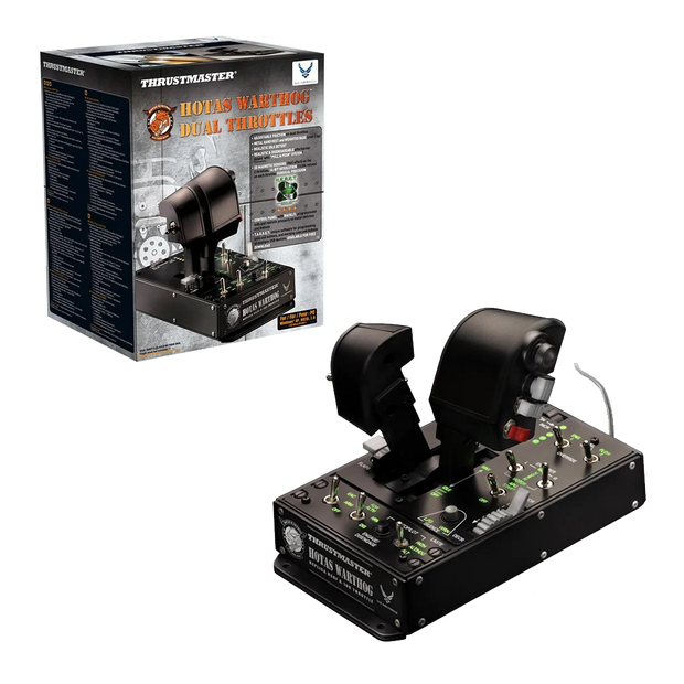 Thrustmaster Hotas Warthog Dual Throttles - Pagnian Advanced Simulation