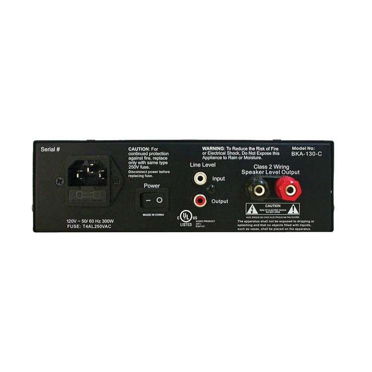 ButtKicker BKA-130-C Power Amplifier - Pagnian Advanced Simulation