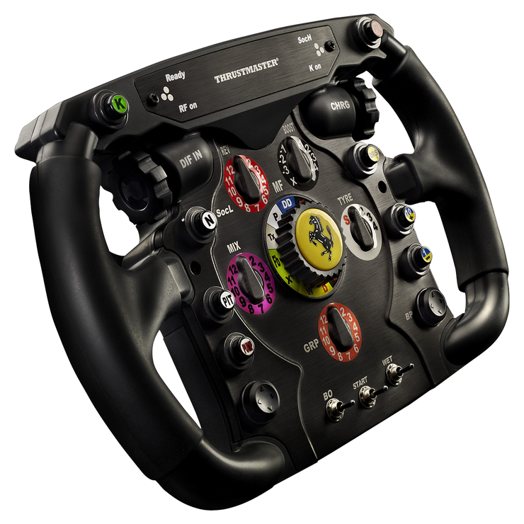 Thrustmaster Ferrari F1 wheel Add On Compatible With Thrustmaster TX, T300, & T500 Wheels - pagnianimports