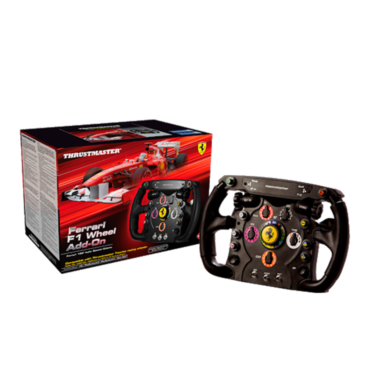 Thrustmaster Ferrari F1 wheel Add On Compatible With Thrustmaster TX, T300, & T500 Wheels - Pagnian Advanced Simulation