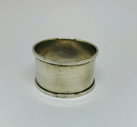 Sterling Silver Napkin Ring 1937