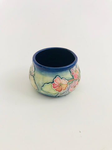 Tupton Squat Vase Hand Painted