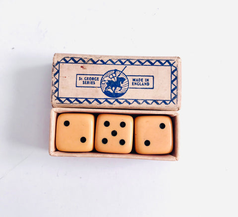 St George Series Set of Three Dice