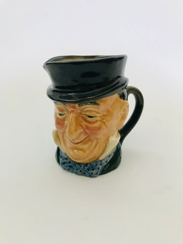 Royal Doulton Micawber Small Toby Jug