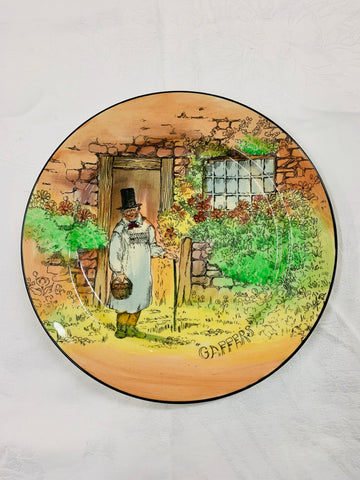 Royal Doulton Gaffers Plate