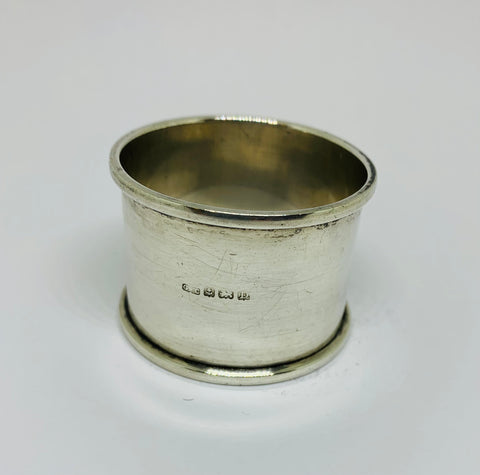 Sterling Silver Napkin Ring 1928