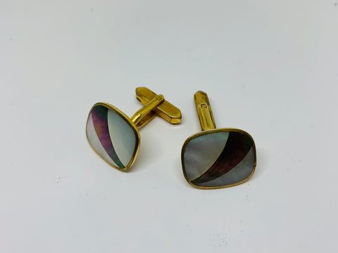 Vintage Rolled Gold Cufflinks