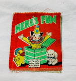 Deans Baby Safe Rag Book Here's Fun