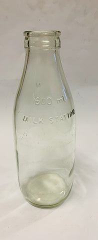600ml vintage milk bottle