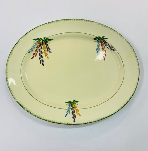 Large Hand painted platter Homeleigh Ware