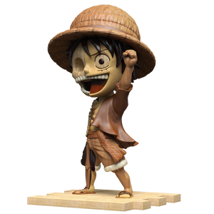 Woodworked Dissected Luffy