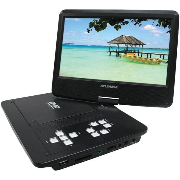 10 Swivel-Screen Portable DVD Player - Televisions