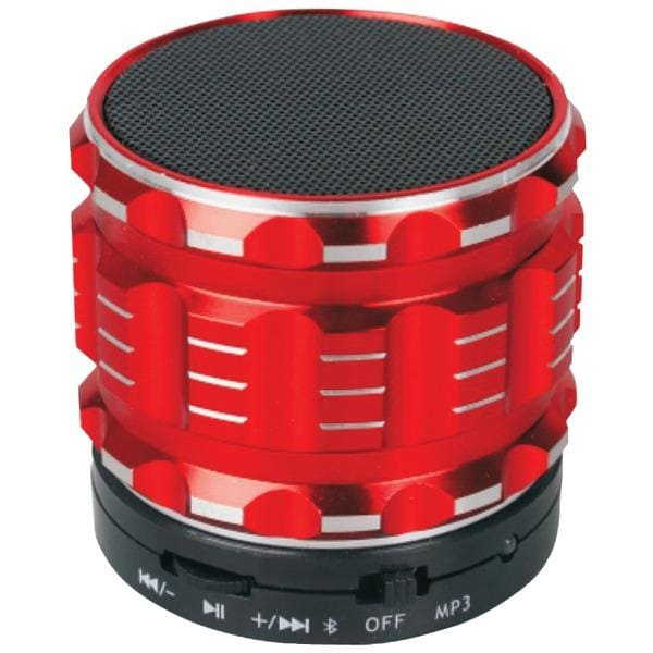 Bluetooth(R) Speaker (Red) - Personal Electronics