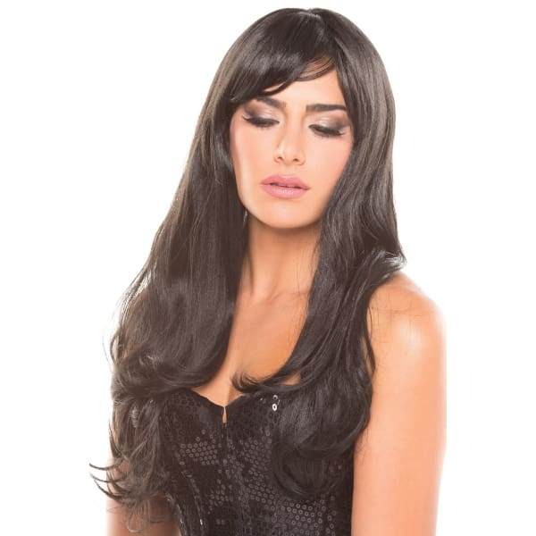 BW095BK Burlesque Wig Black - Black / Female / O/S - Wigs