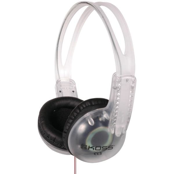CL5 Portable Headphones (8-Foot Cord) - Personal Electronics