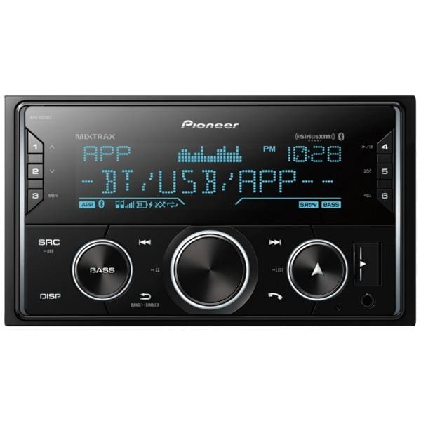 Double-DIN In-Dash Digital Media Receiver with Bluetooth(R) and SiriusXM(R) Ready - Automotive Receivers