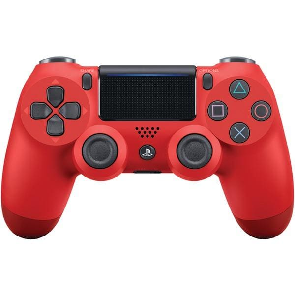 DUALSHOCK(R)4 Wireless Controller (Magma Red) for PlayStation(R)4 - Gaming Accessories