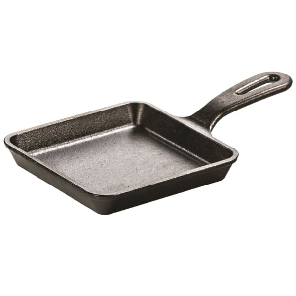 Lodge 5in Cast Iron Wonder Skillet Pre-Seasoned Square - Tents