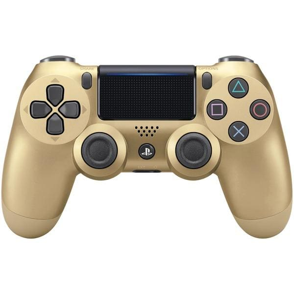 PlayStation(R)4 DUALSHOCK(R)4 Wireless Controller (Gold) - Gaming Accessories
