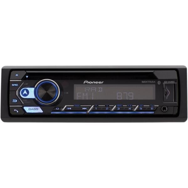 Single-DIN In-Dash CD Player with Bluetooth(R) - Automotive Receivers