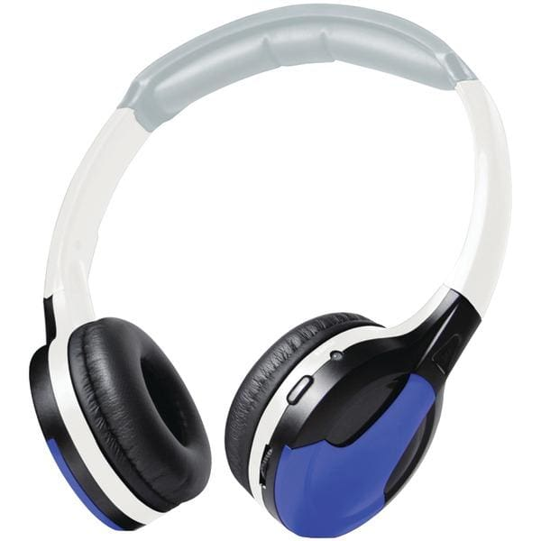 Universal IR Wireless Foldable Headphones (Blue) - Automotive Receivers