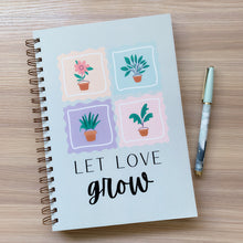 Load image into Gallery viewer, Let Love Grow Notebook