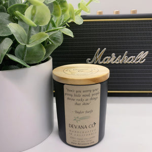 Music Custom Candles