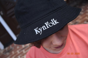 KynFolk Bucket Hat (Black)