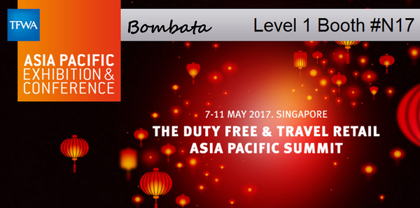Bombata at the TFWA - Singapore