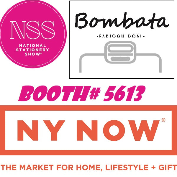 Bombata exhibiting at NSS National Stationery Show