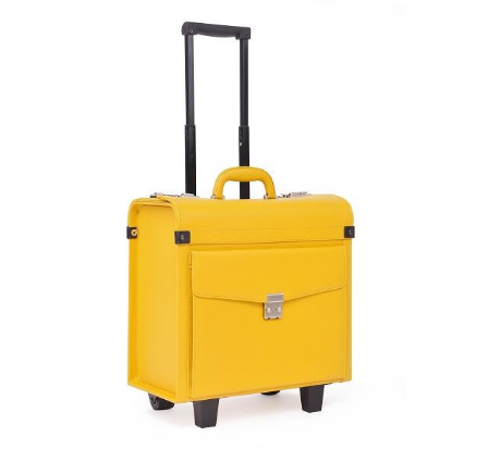 Trolley Bombata Fabio Guidoni Yellow