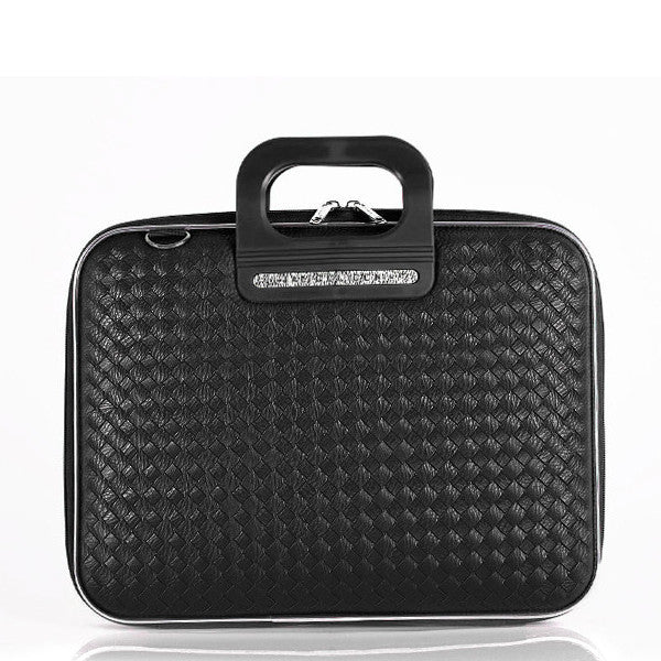 Murano Weaved Bombata Briefcase for 17 inch laptop  by Fabio Guidoni