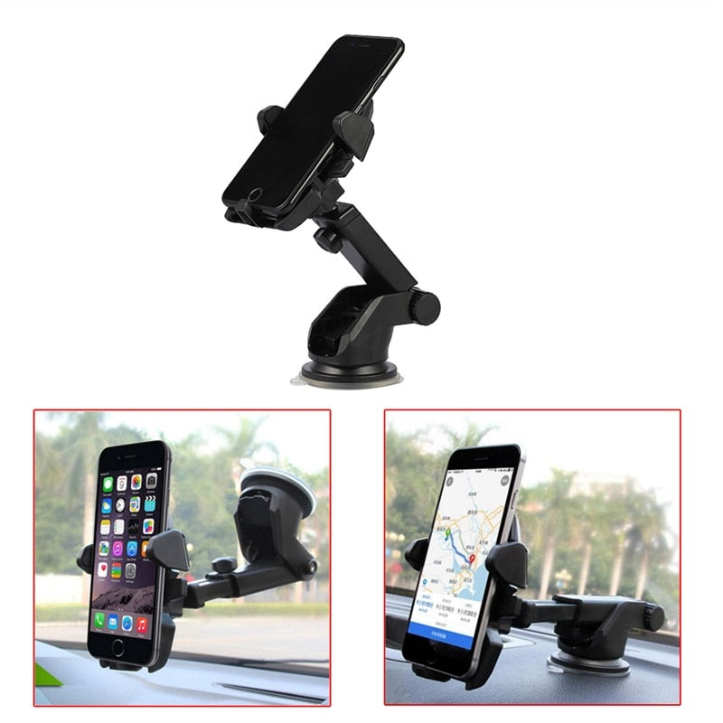 Universal 360° Degrees  Rotations  Adjustable Car Windshield Dashboard Suction Cup Mount Holder Stand For Mobile Cell Phone