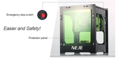 Laser Etching and  Engraver Feature