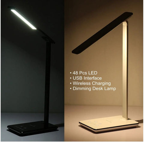 Qi LED Lamp Wireless Charger