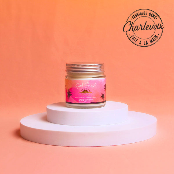 Single Wick Candle – Sweet sunset