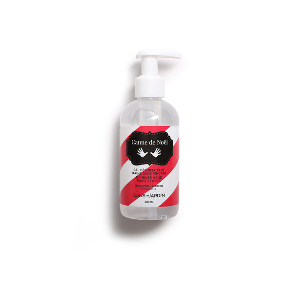 Hand Sanitizer Gel - Canne de Noël - 200 ml