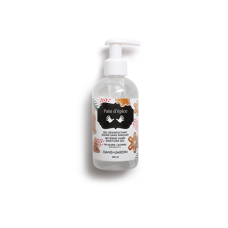 No-Rinse Hand Sanitizing Gel – Gingerbread