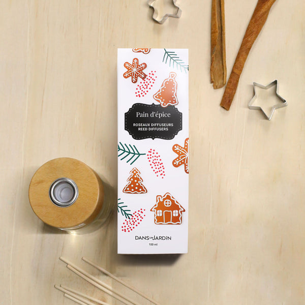 Pain d'épice Reed diffusers