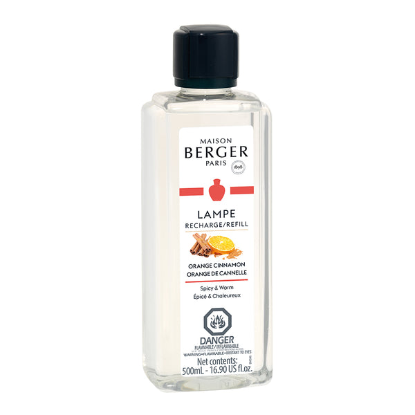 Parfum de Maison Berger Orange de Cannelle - 500 ml - Dans un Jardin