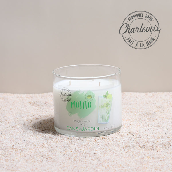 3-Wicks Candle – Mojito